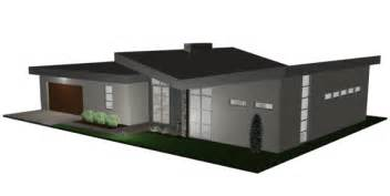 free contemporary house plan free modern house plan the