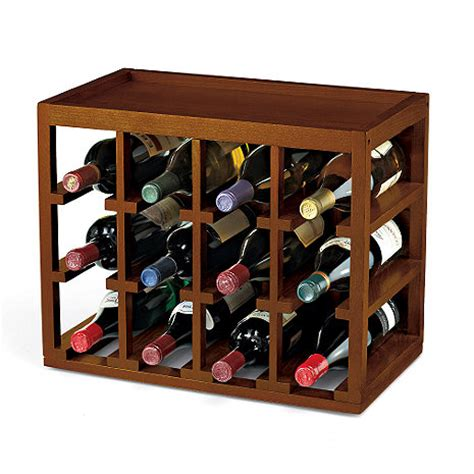 The Wine Rack by 12 Bottle Cube Stack Wine Rack Wine Enthusiast