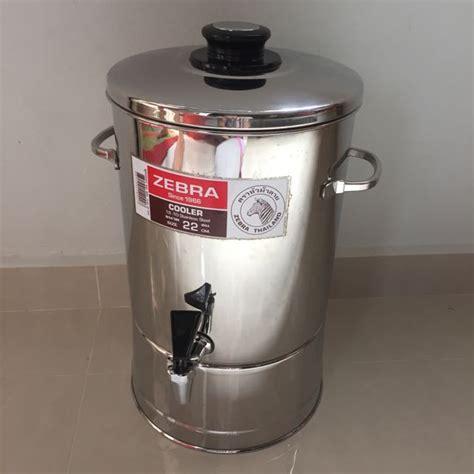 Water Dispenser Zebra Zebra Stainless Steel Water Dispenser Container Kitchen Appliances On Carousell