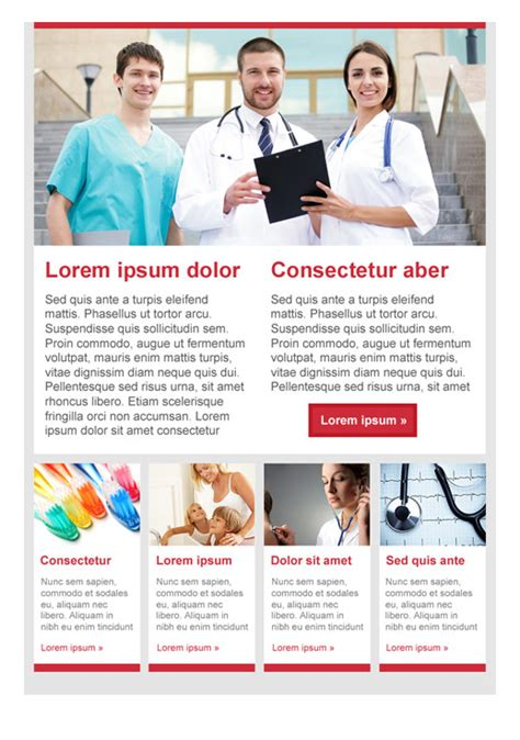 health beauty newsletter templates email marketing