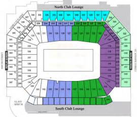 Ford Field Seat Map Ford Field Ford Field Seating Chart Ford Field Travel