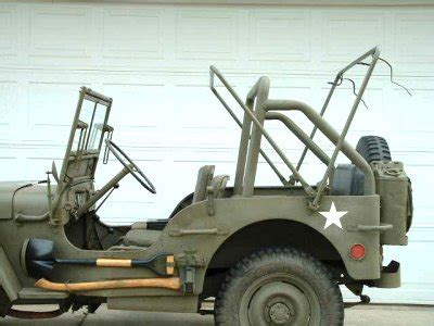 ww2 jeep side view rollbar for the ww2 jeep ww2 jeeps