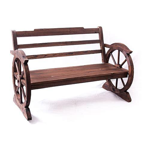 panchine in legno da giardino panchina da esterno in legno di abete grezzo cm 117x63x74h
