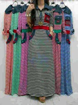 Fitria Maxy T3009 3 baju nooz maxy dress 230597 rp 120 000 cafe bajoo