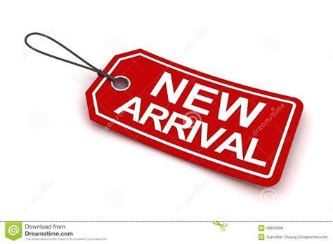 New Arriv new arrival tag 3d render stock illustration image of advertising 48843308