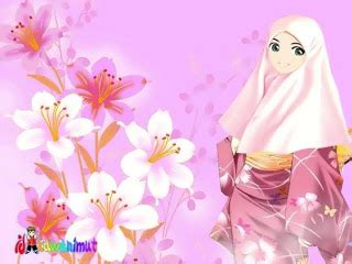 wallpaper islam cantik wallpaper collection of animated hijab