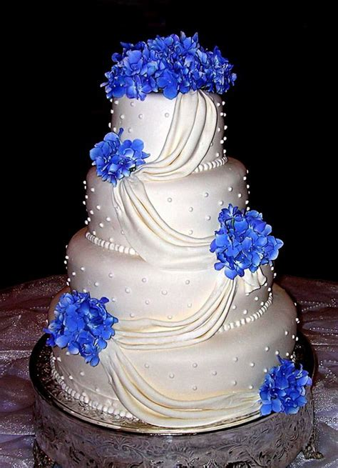 Wedding Cake Blue by Blue Wedding Cake Ideas Stylish