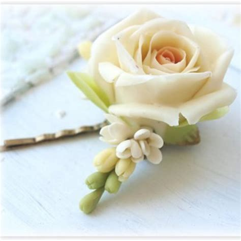 Wedding Hair Accessories Roses by Ivory Bridal Hair Accessories Bobby Pins Oriflowers