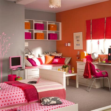 Bedroom Ideas For A Teenage Girl | vibrant girl s bedroom teenage girls bedroom ideas