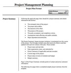 project management system template project planning template 9 free sles exles