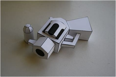 Papercraft Portal Gun - pin portal gun papercraft my on