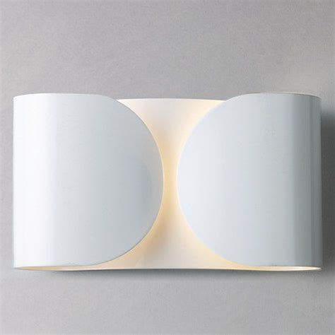 flos foglio wall light black lighting wall lights
