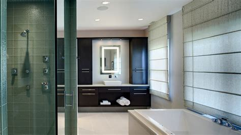 contemporary master bathroom his and hers contemporary master bathroom drury design