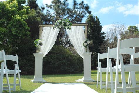 Wedding Arch White by Wedding Decoration Hire Sydney Wedding Hire Sydney