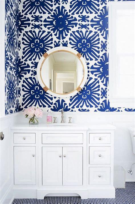 wallpaper blue bathroom interior design ideas home bunch interior design ideas