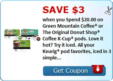 k cup coupon seriously free stuff