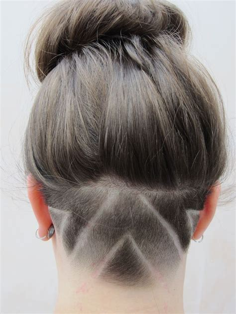 women undercut long 19 best images about nape cut on pinterest hair tattoos