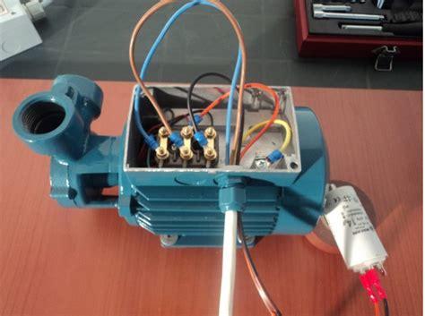 condensatore per motore trifase alimentato monofase trasformare un motore trifase 400v in monofase 230v
