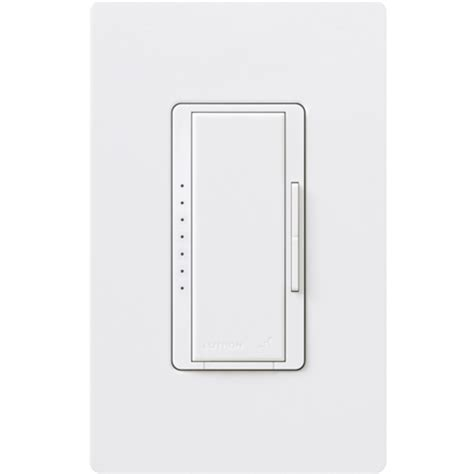lutron rrd 10nd wh 1000w neutral wire dimmer white