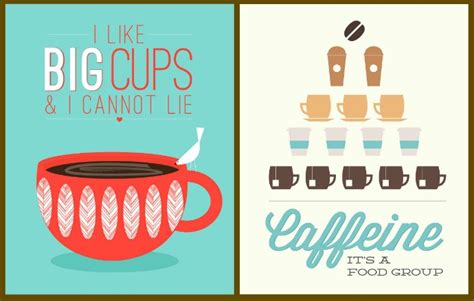 Coffee poster art: 5 fun designs for java fiends