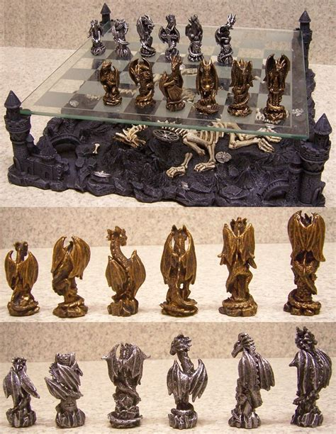 dragon chess set 30 unique home chess sets