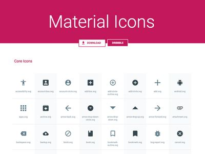 material design icon pack zip svg sketch material icons pack by benjamin schmidt
