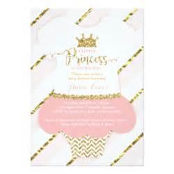 princess baby shower invitations announcements zazzle