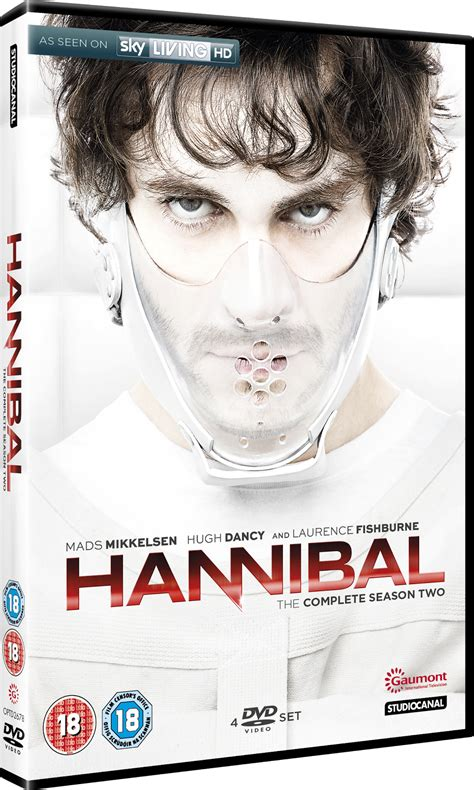 Hannibal The Complete Series Bluray hannibal the complete season two uk dvd official review the incredibly strange