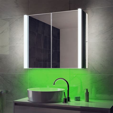 Bright Bathroom Lights Colour Change Lighting Bright Aura Bathroom Cabinets Light Mirrors