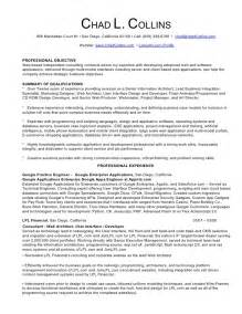 chad collins professional resume