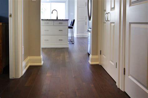 Hardwood Flooring Direction   Logs End