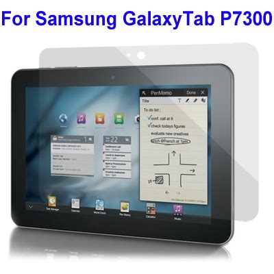 Samsung Tab 8 9 P7300 professional lcd screen protector for samsung galaxy tab 8