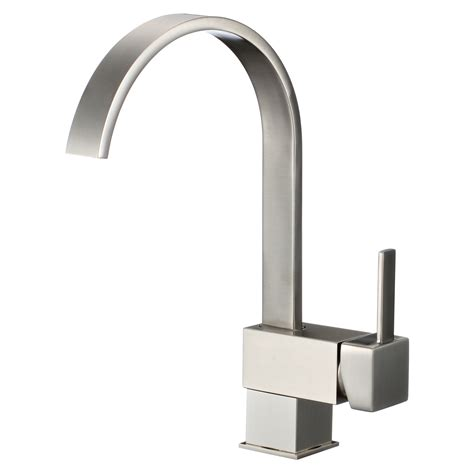 Modern Kitchen Sink Faucets | 13 quot modern kitchen bathroom sink faucet one hole