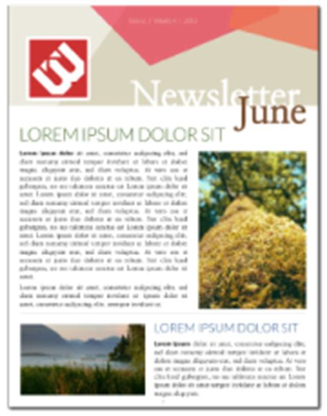 pages newsletter templates free newsletter templates free lucidpress