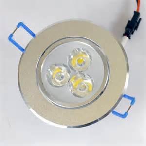 Bright Led Solar Lights - 9 watt round led downlight ceiling light 50w 60w halogen