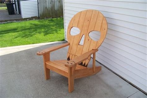 wooden skull lawn chair plans 1000 images about adirondack chair on