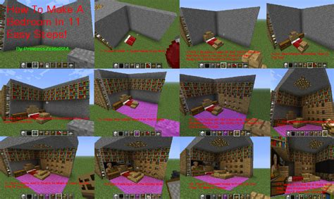 how to make bedroom in minecraft minecraft tutorial how to make a bedroom by