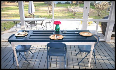 turning an old door into a dining room table turn a door into a dining table in 6 steps