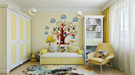 artistic room ideas bright and colorful kids room designs with whimsical