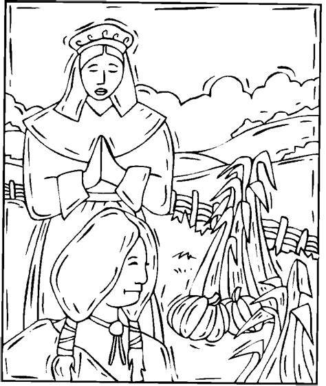 thanksgiving indian coloring page thanksgiving coloring pages coloring pages to print