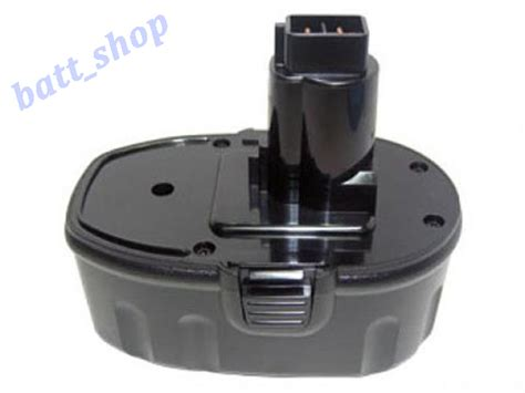Dw Dw056 Black 2 18v 3a ni mh battery for dewalt de9098 dcg411kl dw056