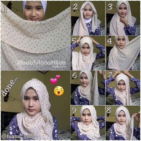 tutorial hijab turban sehari hari tutorial hijab simple untuk sehari hari masa kini terbaru