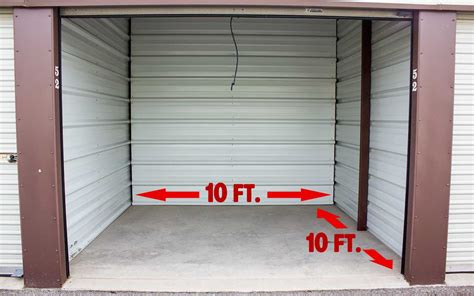how many square is a 10 by 10 room available units billy the kid storage