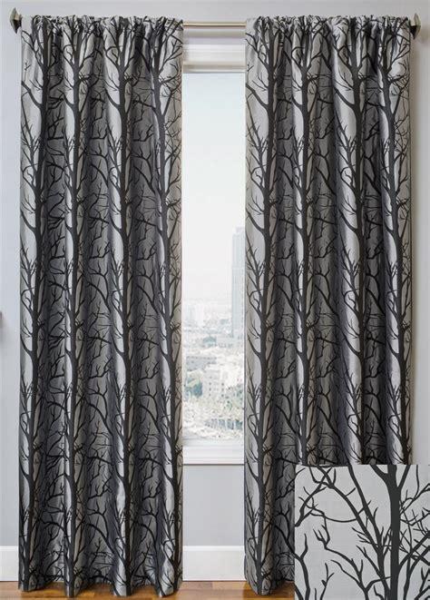 Tree Drapes element tree curtain drapery panels