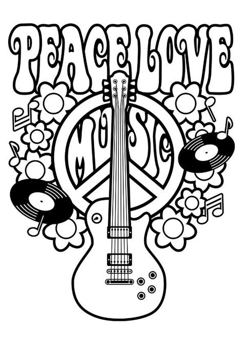 coloring book list of songs simple and attractive free printable peace sign coloring