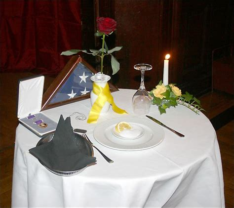 fallen comrade table fallen soldier table fallen soldiers table at the st barbaras day march 9 2007
