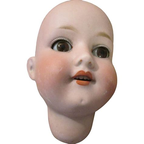 bisque doll heads antique antique bisque doll with glass from