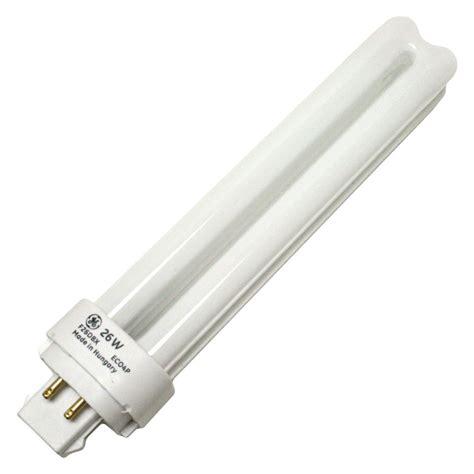 ge compact fluorescent light bulbs ge 97613 f26dbx 841 eco4p 4 pin base compact
