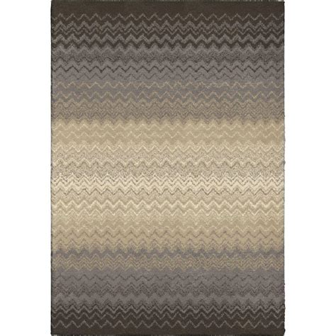 orian rugs lowes orian rugs waving chevron gray 7 ft 10 in x 10 ft 10 in indoor area rug 353990 the home depot