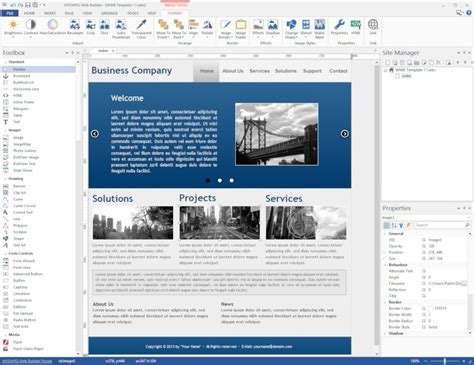 html design builder wysiwyg web builder